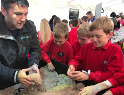 Interactive Environmental Exhibition for Primary Schools at the Clarinbridge Oyster Festival