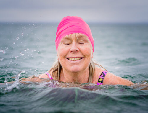 Sea swimmers confirm improvements in their mental health and wellbeing as the primary reason for swimming in the sea